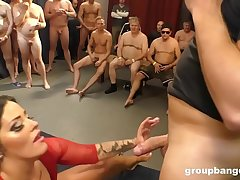 Ashley Cumstar Groupbanged in All Her Respectableness Holes