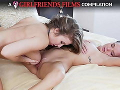 Lesbian Dovefucking Compilation - GirlfriendsFilms