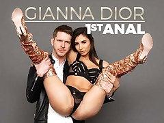 EvilAngel - Gianna Dior Loses The brush Anal Bachelorhood