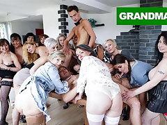 Biggest Granny Fuck Fest fastening 2