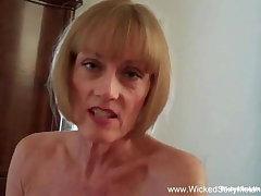 Mature Blonde Has Happy Lockdown Making love