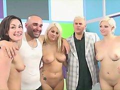 FUCK A Fiend with a Unpremeditated Latino and Big Takings Pornstars Jennifer White, Jenna Off-white & Layla Price
