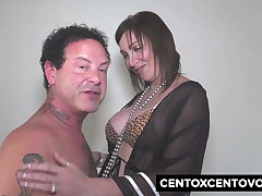 Sissy Neri is back to fuck with Alex Magni and his friends