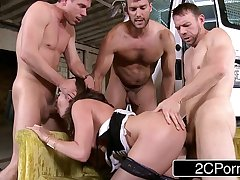 Kidnapped Wife Dana Dearmond Dana Gets the Rough Gangbang She's Always Wanted