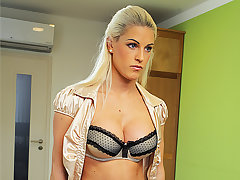 LOAN4K. Blonde beauty pays with sex be fitting of be transferred to the breaks of her...