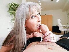 Hot Granny Leilani Lei Rewards Stud For Hard Pretend