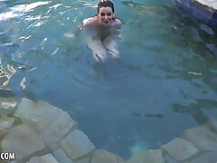 Emma Evins Is Out Swimming And Obtainable To Masturbate