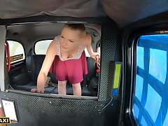 Dissemble Taxi – Hot Russian Lucy Heart Tries Cabby's English Sausage
