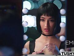 TUSHY – Bad girl Emily has an addiction to adrenaline & anal