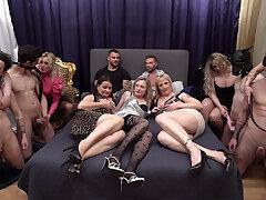 3x Decadence Swingers Party