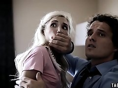Young girlfriend Piper Perri gangbanged by drug dealers