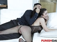 Pretty Sweety Jasmine Vega Gets Punished