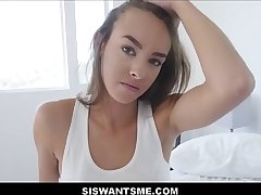 WOW Hot Teen Stepsister Charity Crawford Sex With Stepbrother After Boyfriend Breaks Up With Her POV