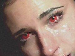 ROUGH Throat Abuse on Halloween - Balls Deep Face Fucking - Melina May